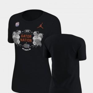 2018 Peach Bowl Bound Ladies Florida T-Shirt Verbiage Jordan Brand Black