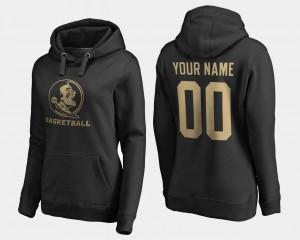 FSU Customized Hoodies Ladies Black #00 Name and Number Basketball