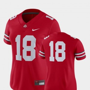Scarlet College Football 2018 Game Nike Women Ohio State Jersey #18