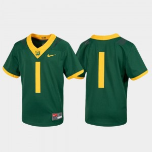Youth Football #1 Untouchable Baylor Jersey Green