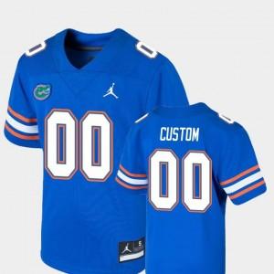 UF Customized Jerseys #00 Game Royal College Football Jordan Brand Kids