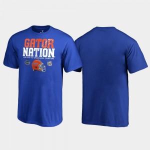 2018 Peach Bowl Champions UF T-Shirt For Kids Royal Endaround Fanatics Branded