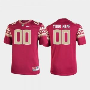 #00 Garnet Youth Seminoles Custom Jerseys Replica Football Nike