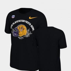 Helmet Nike Black Tigers T-Shirt 2019 Fiesta Bowl Bound For Kids