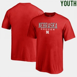 Cornhuskers T-Shirt Soccer Fanatics Youth True Sport Scarlet
