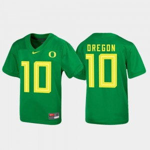 Oregon Ducks Jersey Youth(Kids) Untouchable Football Green #10