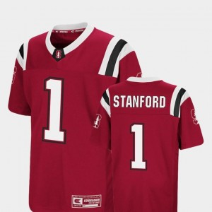 Foos-Ball Football For Kids #1 Cardinal Colosseum Authentic Stanford Cardinal Jersey