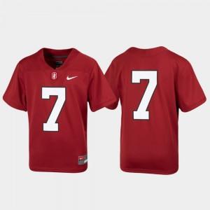 Alex Carter Stanford Cardinal Football Jersey - Red