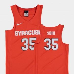 Youth #35 Replica Bourama Sidibe Syracuse Jersey Orange College Basketball