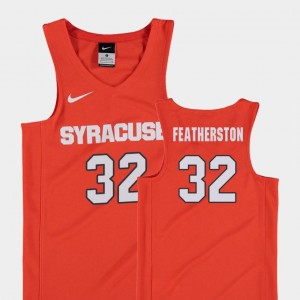 #32 Kids Replica College Basketball Orange Ray Featherston Orange Jersey