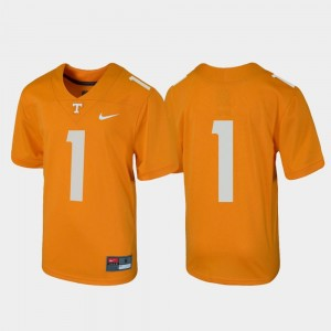 Vols Jersey Tennessee Orange For Kids #1 Untouchable Football