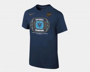 Navy Wildcats T-Shirt Basketball National Champions 2018 Locker Room Youth(Kids)